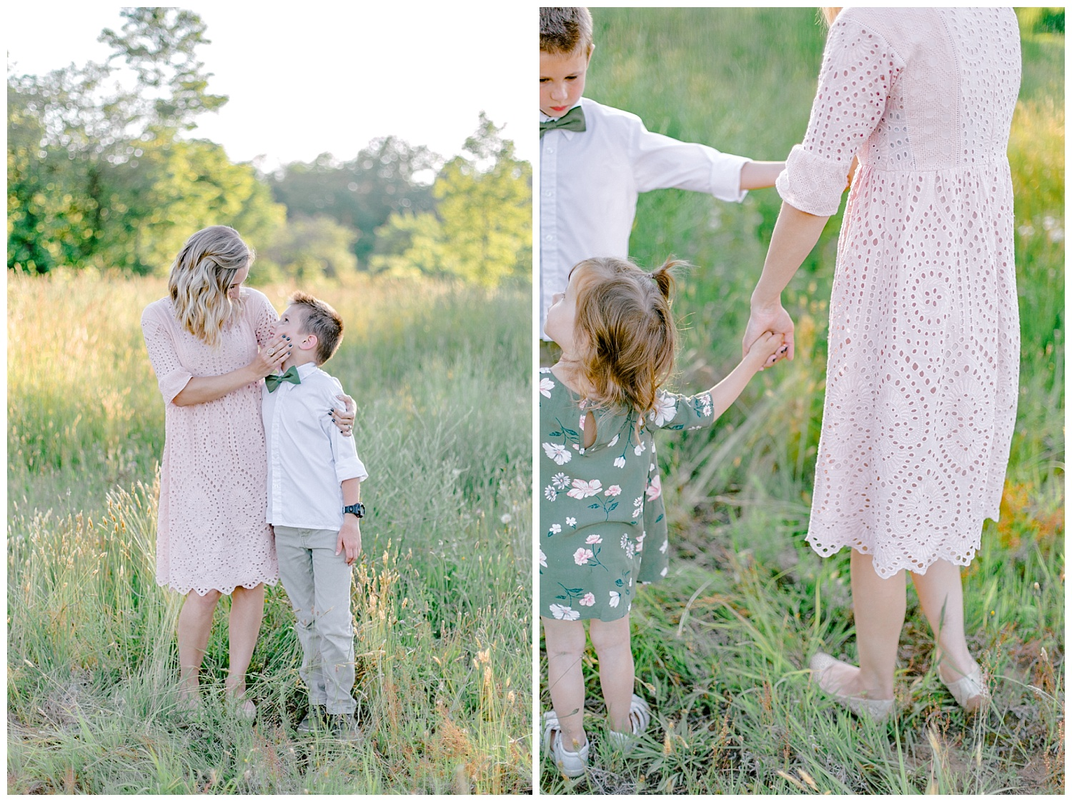 Upstate New York olive green and blush lavender field farm golden hour family session by lehigh valley Pennsylvania based wedding and lifestyle photographer Lytle photography_0018.jpg