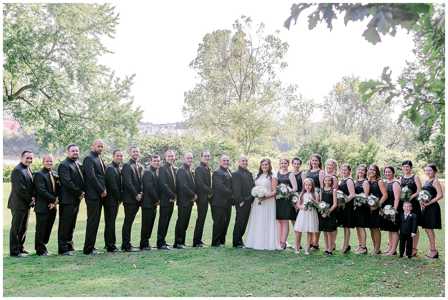 A Black and Gold Catholic Church Wedding in Wilkes Barre Pennsylvania by lehigh valley pennsylvania based wedding and lifestyle photographer Jeannie Lytle of Lytle Photography   Company (23).jpg