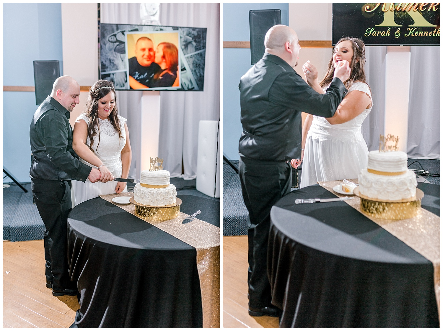 A Black and Gold Catholic Church Wedding in Wilkes Barre Pennsylvania by lehigh valley pennsylvania based wedding and lifestyle photographer Jeannie Lytle of Lytle Photography   Company (41).jpg