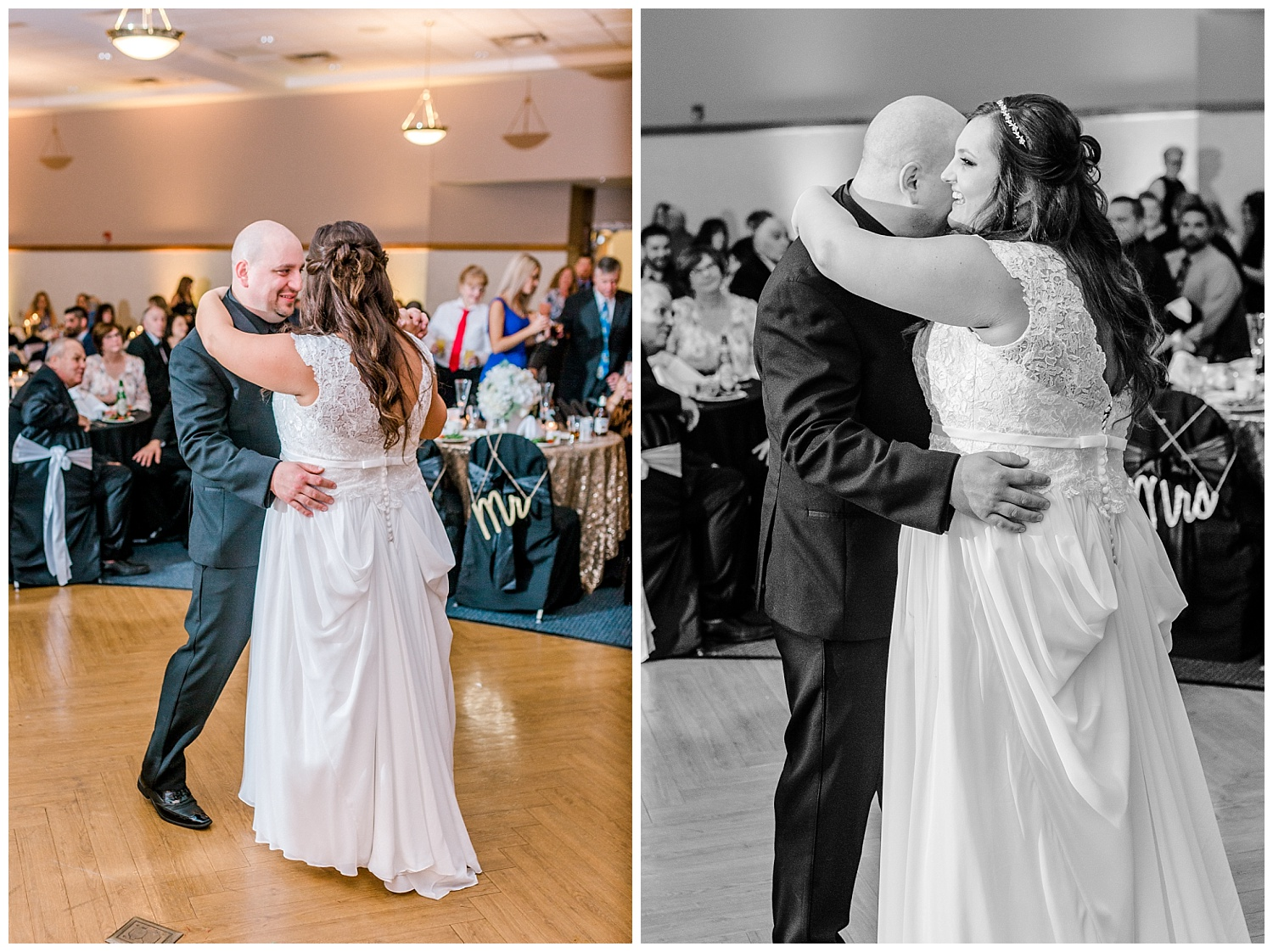 A Black and Gold Catholic Church Wedding in Wilkes Barre Pennsylvania by lehigh valley pennsylvania based wedding and lifestyle photographer Jeannie Lytle of Lytle Photography   Company (46).jpg
