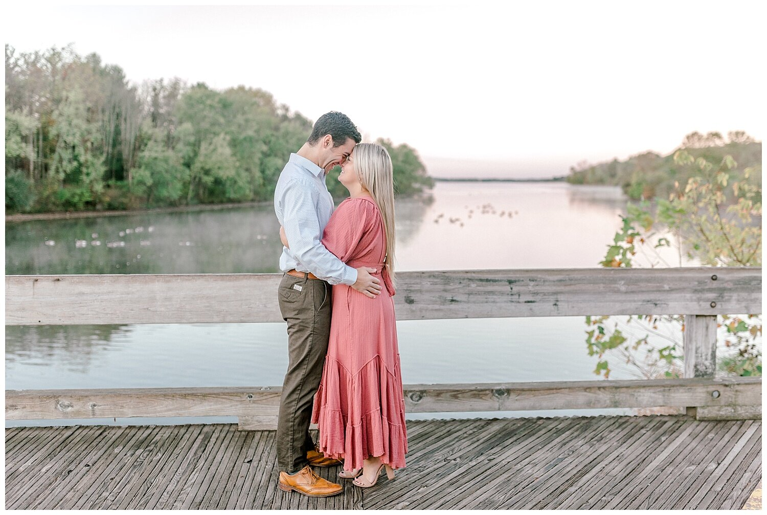 Peace Valley Park Doylestown bucks county PA fall sunrise engagement session  lehigh valley pennsylvania based wedding and lifestyle photographer Jeannie Lytle of Lytle Photography Company_0003.jpg