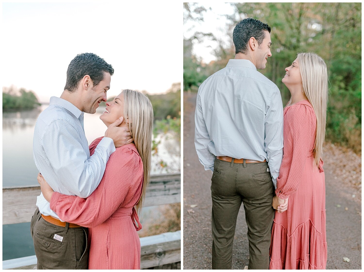 Peace Valley Park Doylestown bucks county PA fall sunrise engagement session  lehigh valley pennsylvania based wedding and lifestyle photographer Jeannie Lytle of Lytle Photography Company_0004.jpg