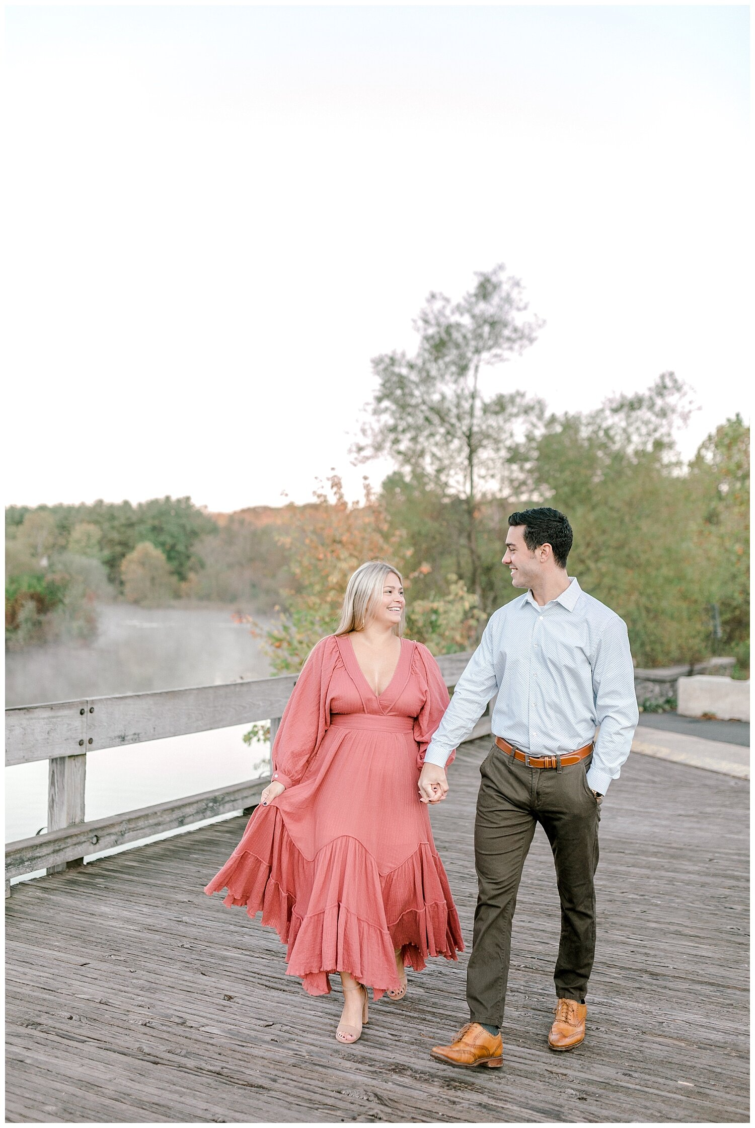Peace Valley Park Doylestown bucks county PA fall sunrise engagement session  lehigh valley pennsylvania based wedding and lifestyle photographer Jeannie Lytle of Lytle Photography Company_0005.jpg