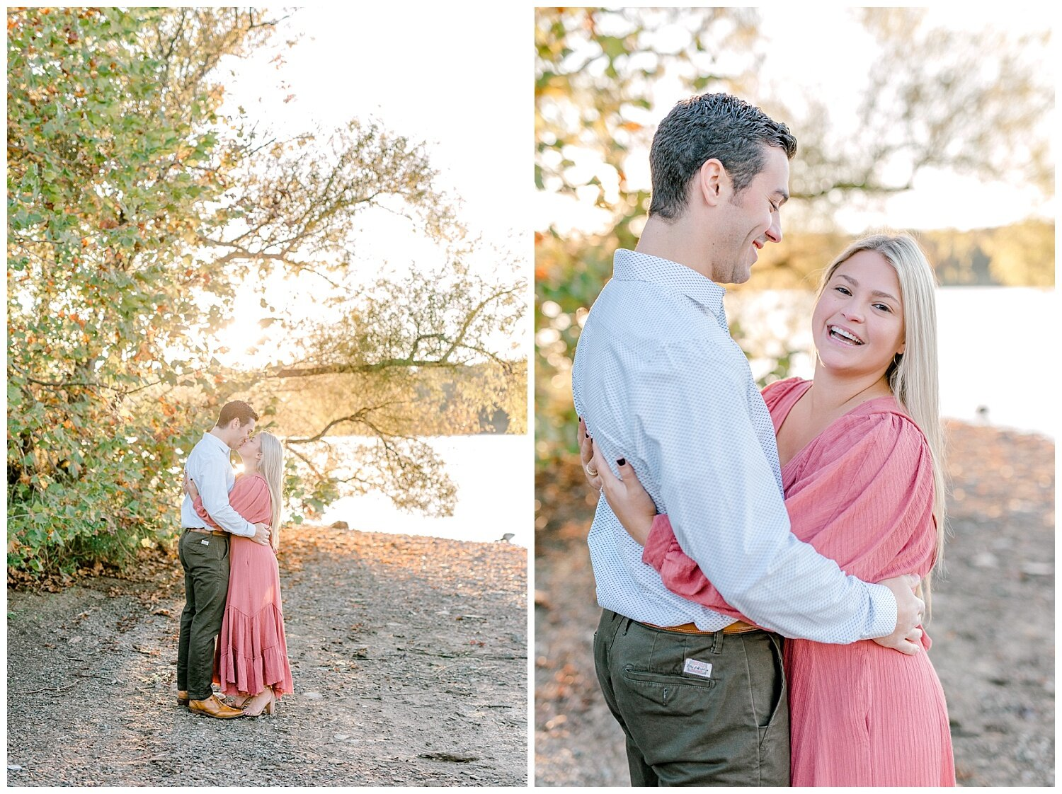 Peace Valley Park Doylestown bucks county PA fall sunrise engagement session  lehigh valley pennsylvania based wedding and lifestyle photographer Jeannie Lytle of Lytle Photography Company_0008.jpg