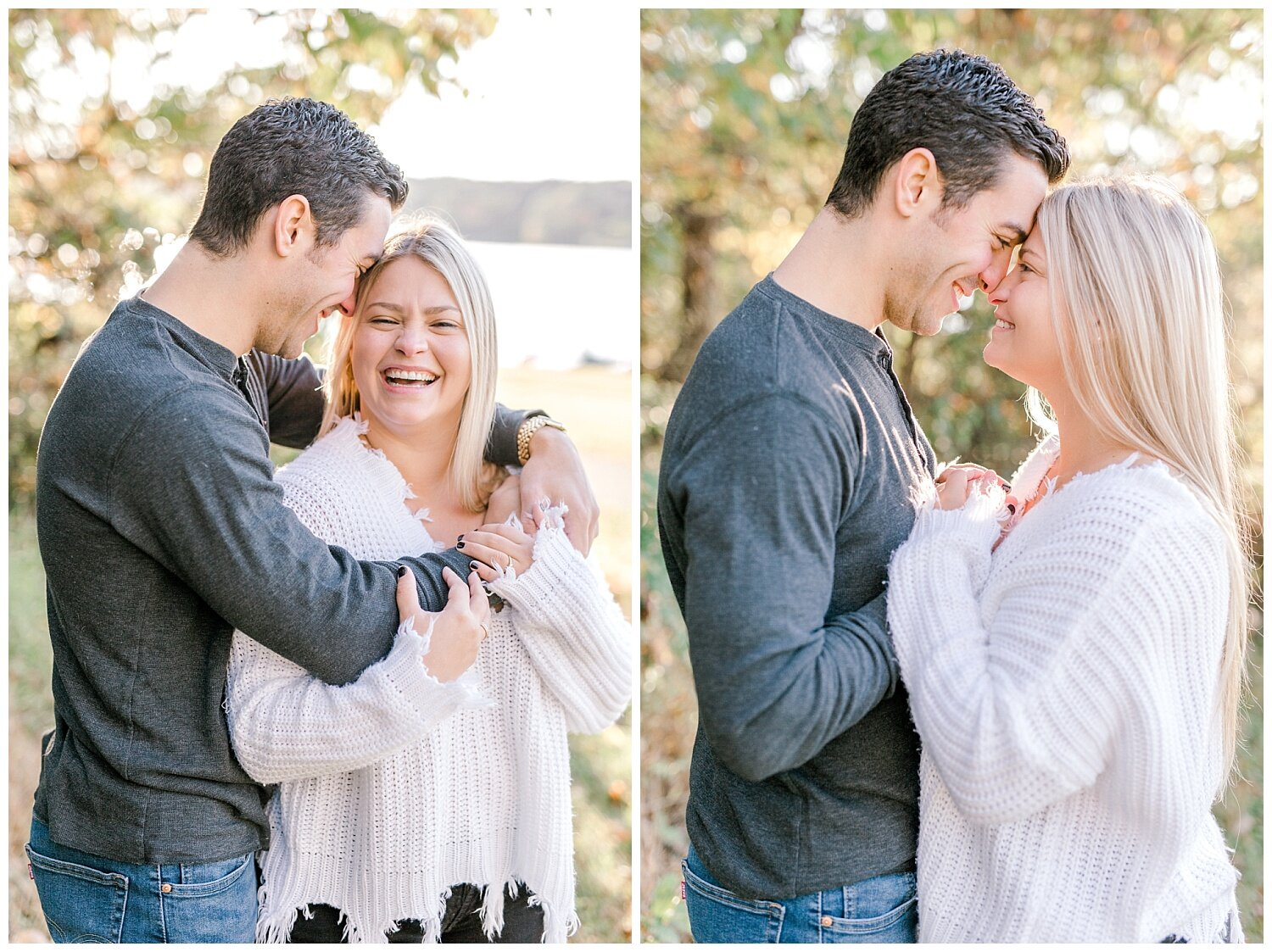 Peace Valley Park Doylestown bucks county PA fall sunrise engagement session  lehigh valley pennsylvania based wedding and lifestyle photographer Jeannie Lytle of Lytle Photography Company_0015.jpg