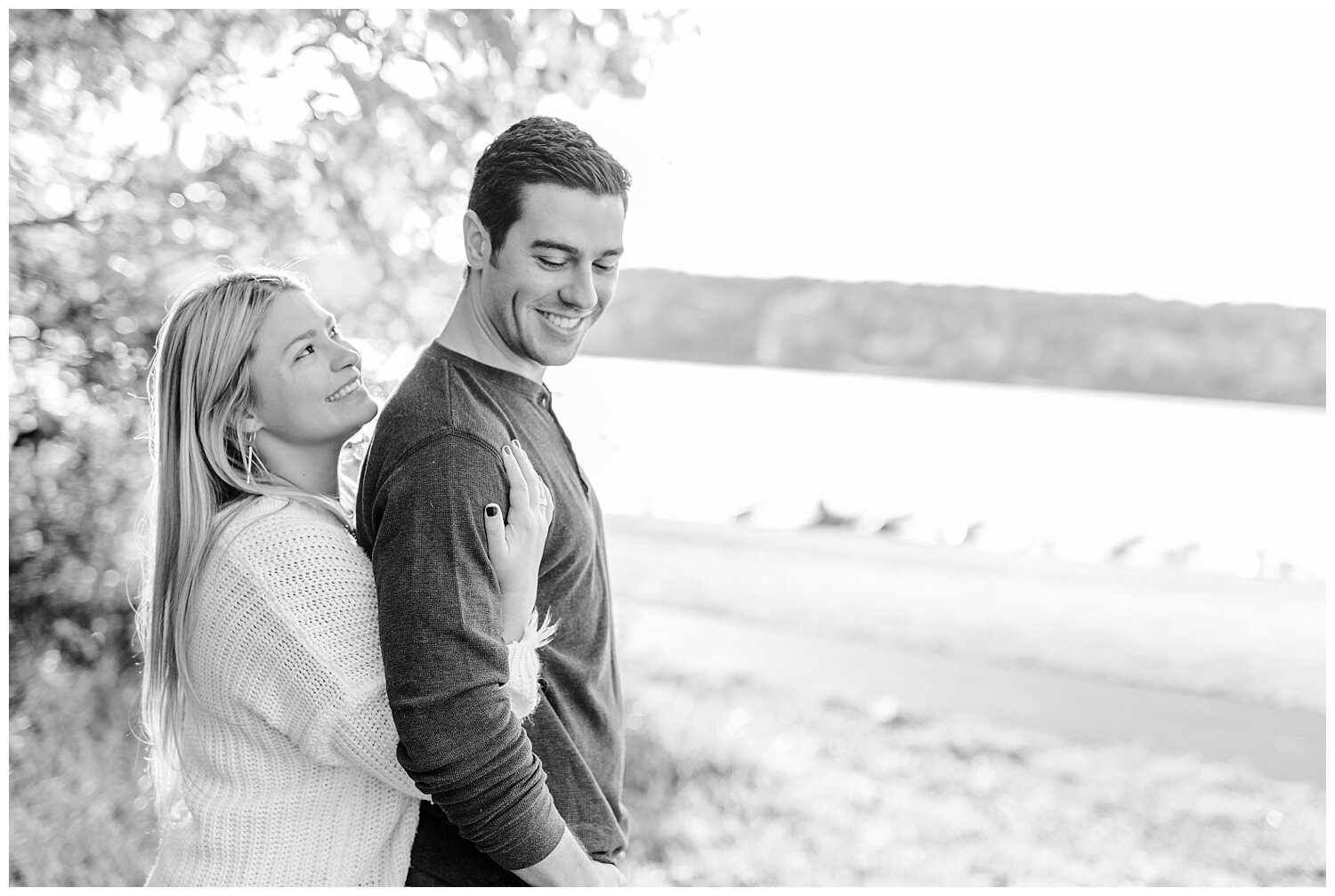 Peace Valley Park Doylestown bucks county PA fall sunrise engagement session  lehigh valley pennsylvania based wedding and lifestyle photographer Jeannie Lytle of Lytle Photography Company_0016.jpg