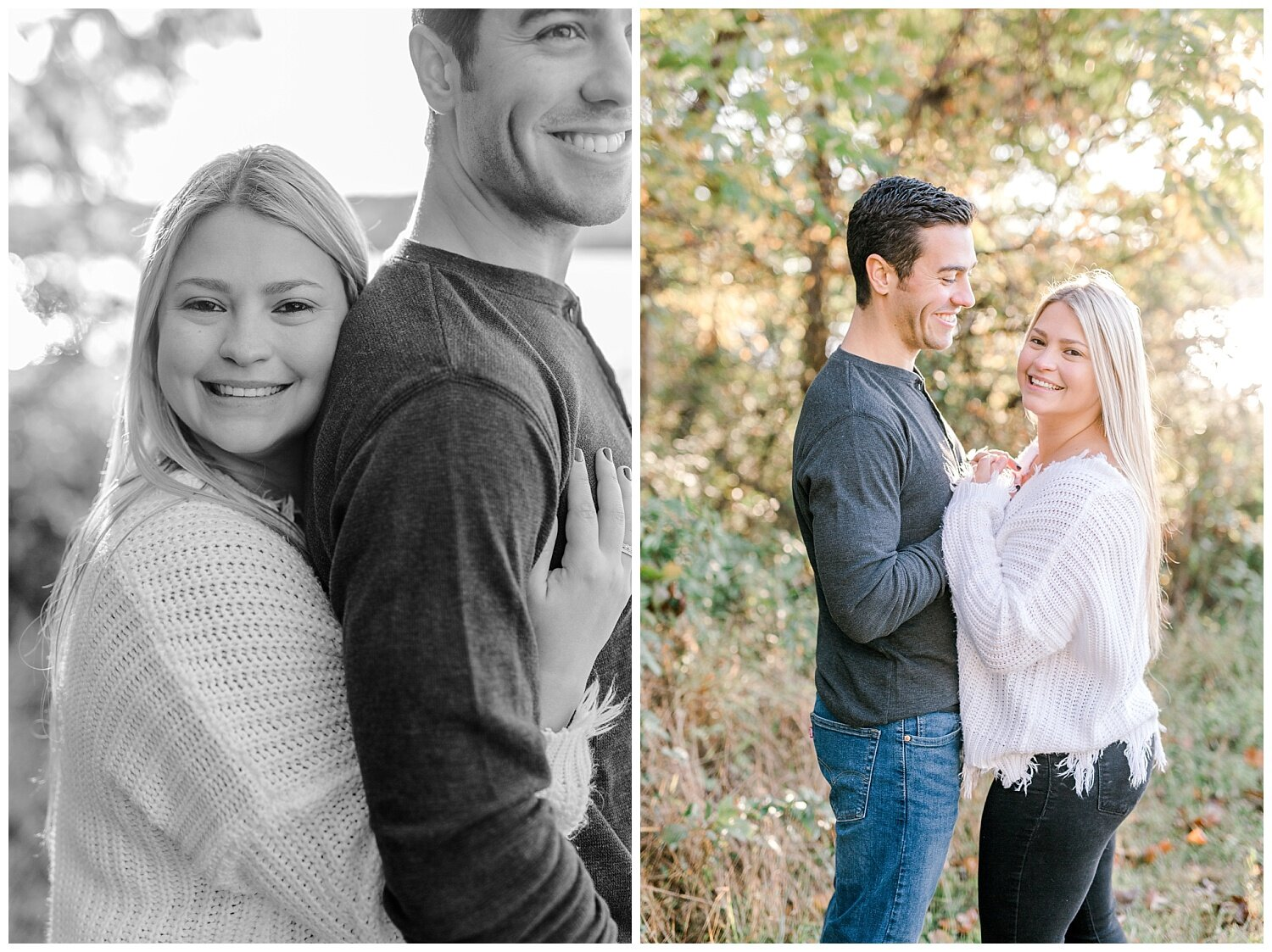 Peace Valley Park Doylestown bucks county PA fall sunrise engagement session  lehigh valley pennsylvania based wedding and lifestyle photographer Jeannie Lytle of Lytle Photography Company_0017.jpg