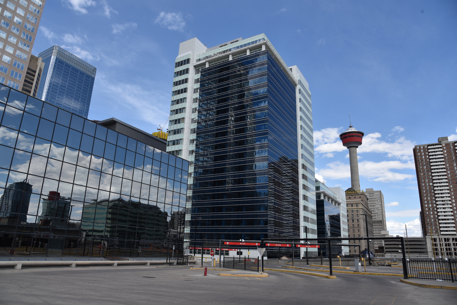 9th Ave & 2nd Street (Gulf Canada Square parkade)