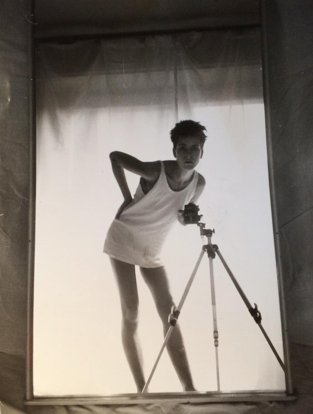 Self-portrait circa 1985