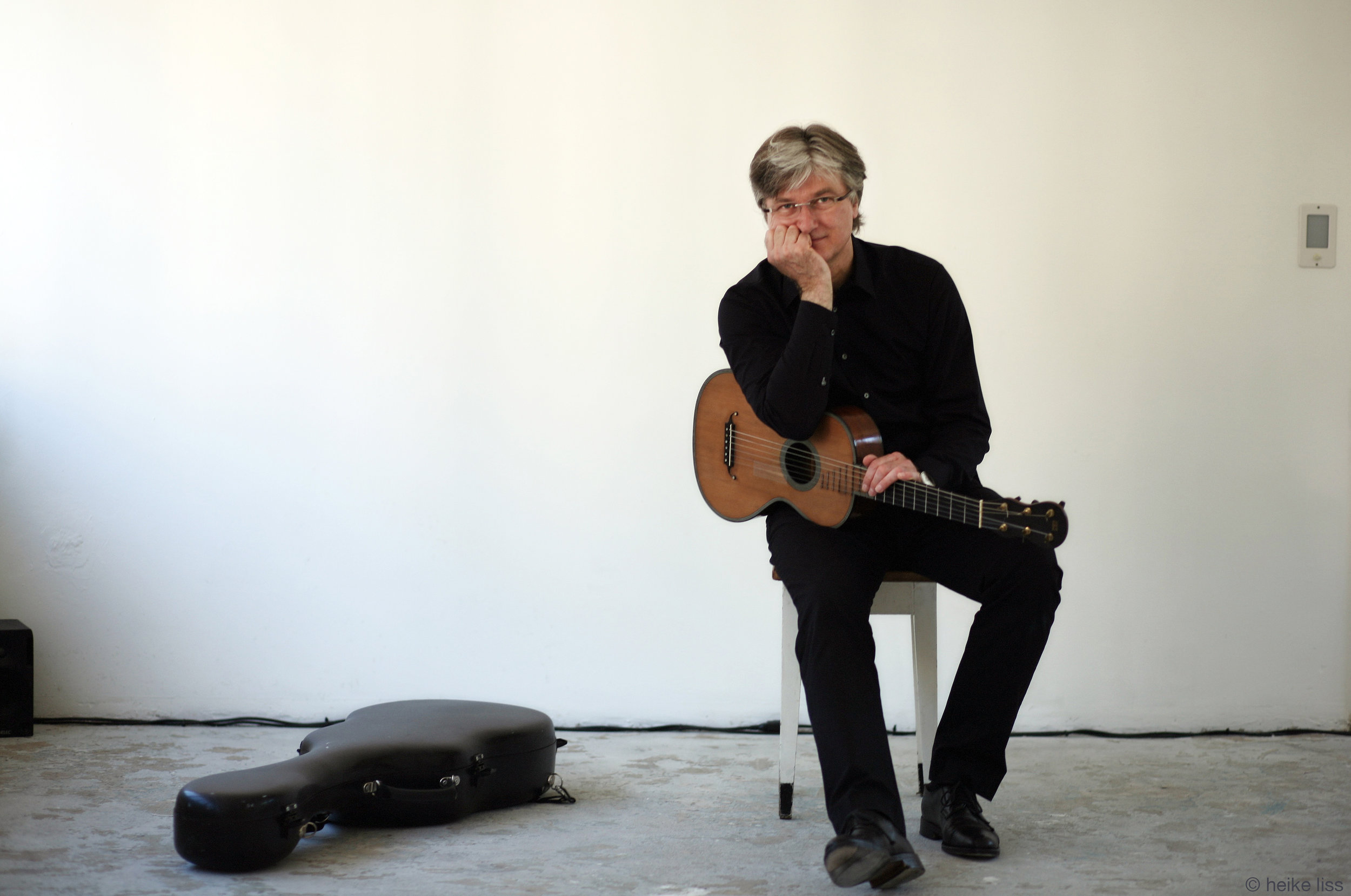Stephan Schmidt, guitarist © Heike Liss