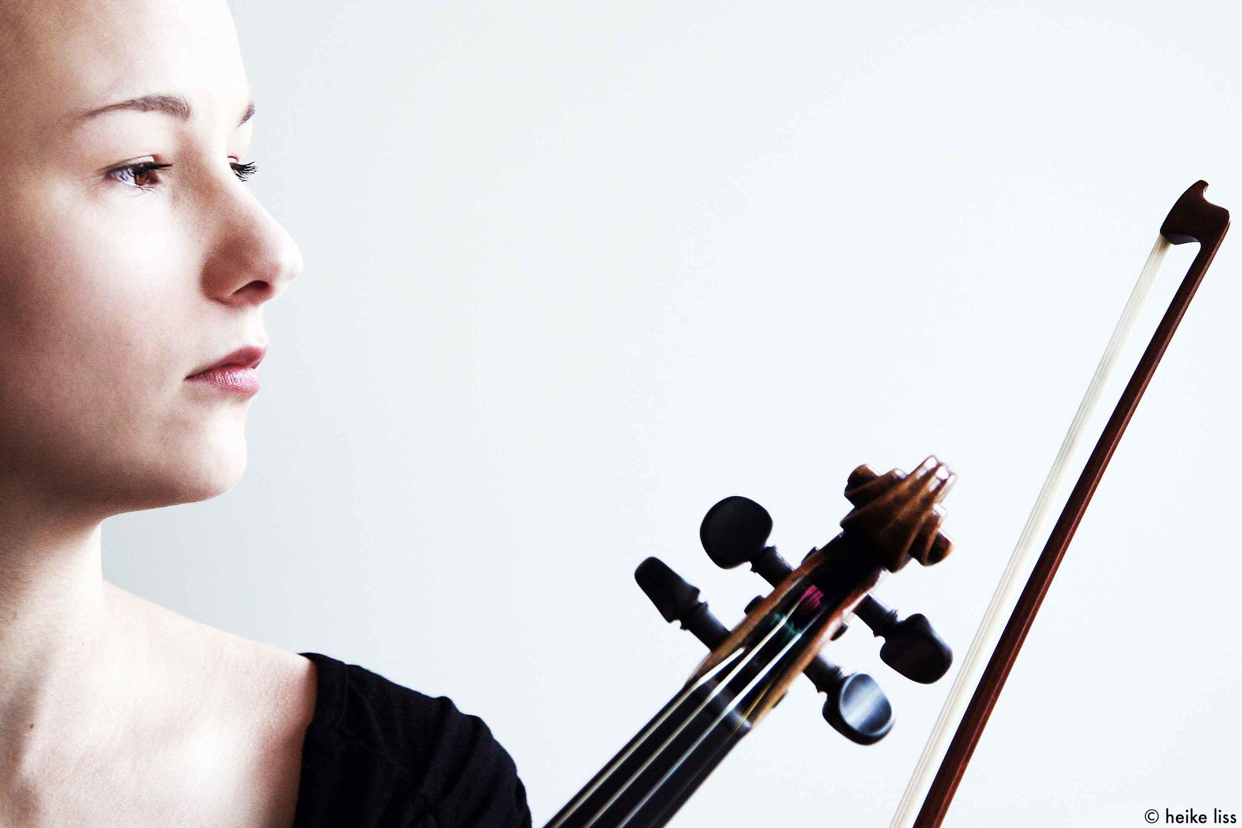 Kristina Kalmus, Violinist ©Heike Liss