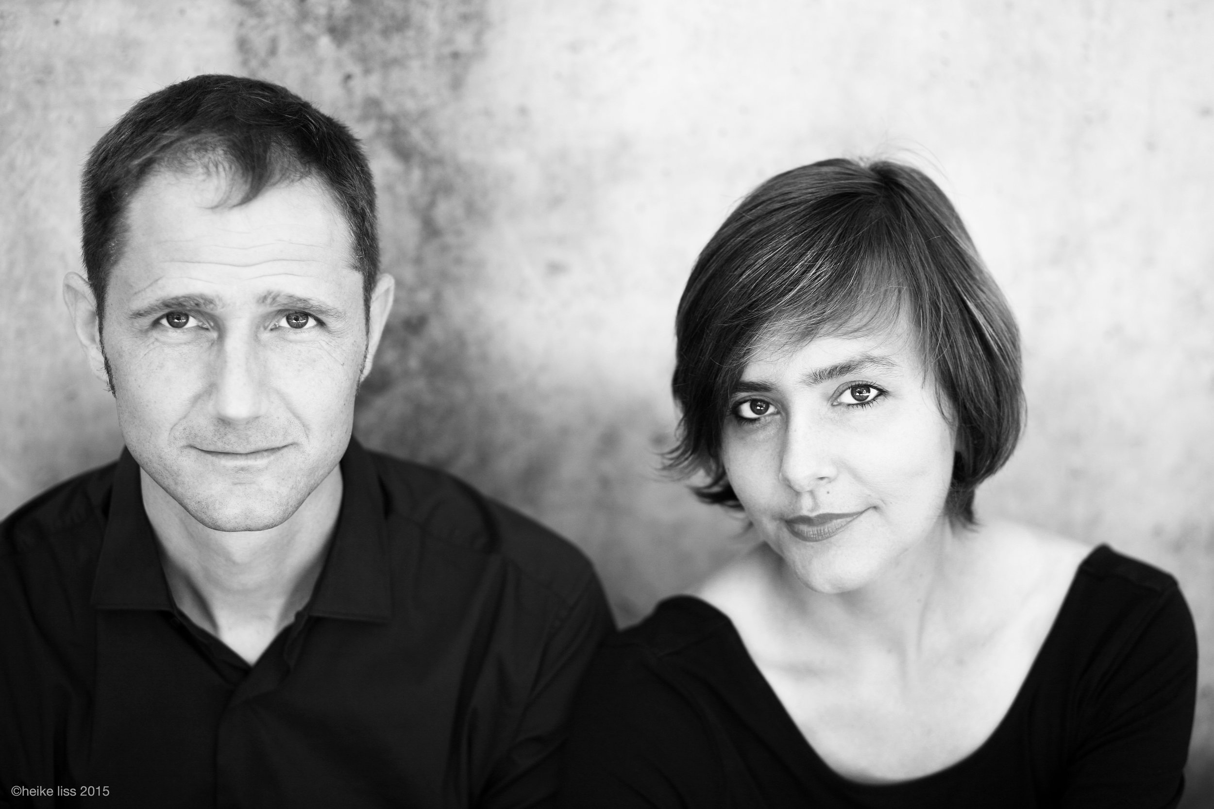 Martin Malaun and Viviane Chassot,  musicians ©Heike Liss
