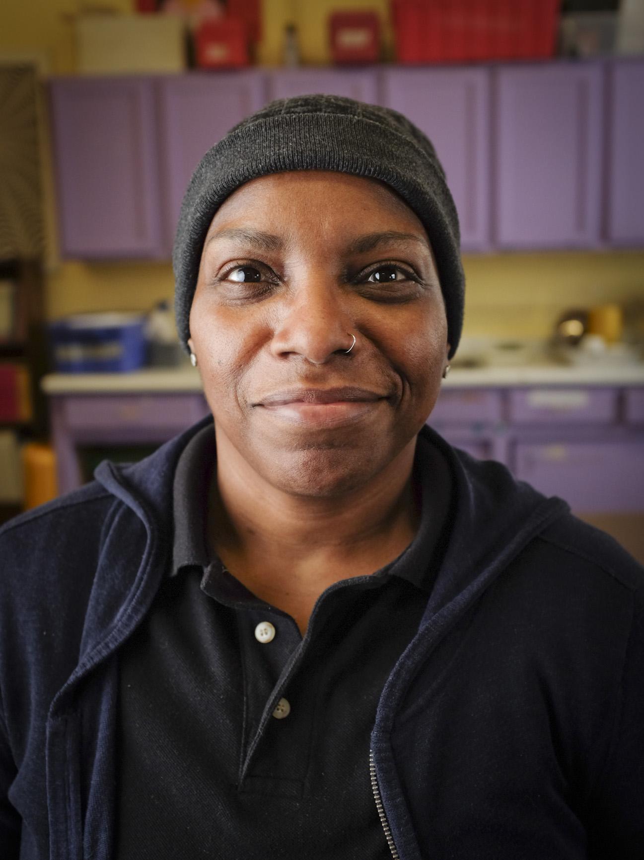 Dianne Barber, serves at Sabathani Community Center