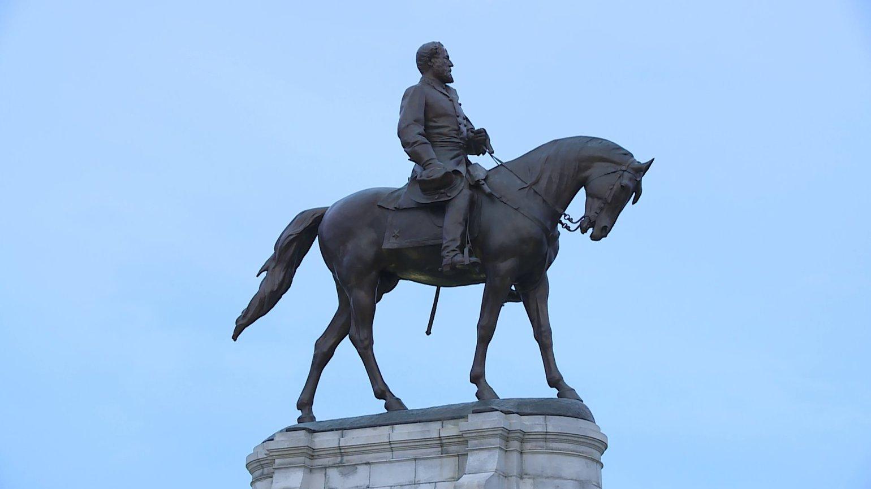 Robert E. Lee statue in Emancipation Park, Charlottesville, VA