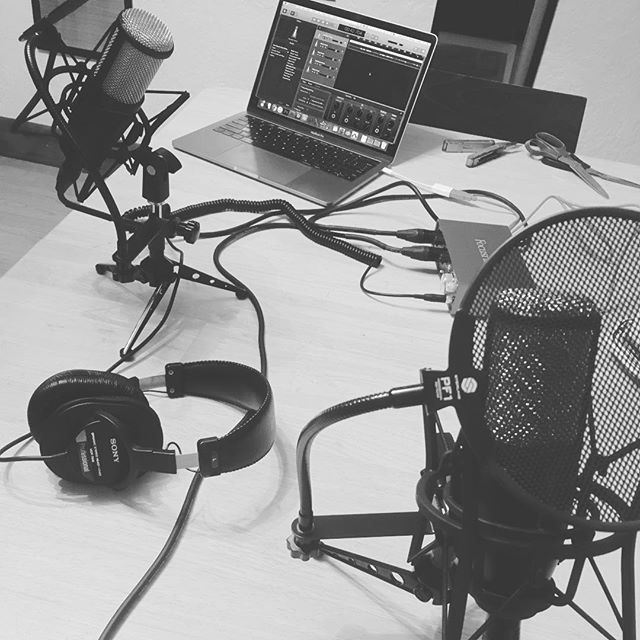 It's podcast time! I cracked my bank account the other day but hey, Money's meant to be spent at some point. #podcast #newadventure #experimentallearning #recordinglife