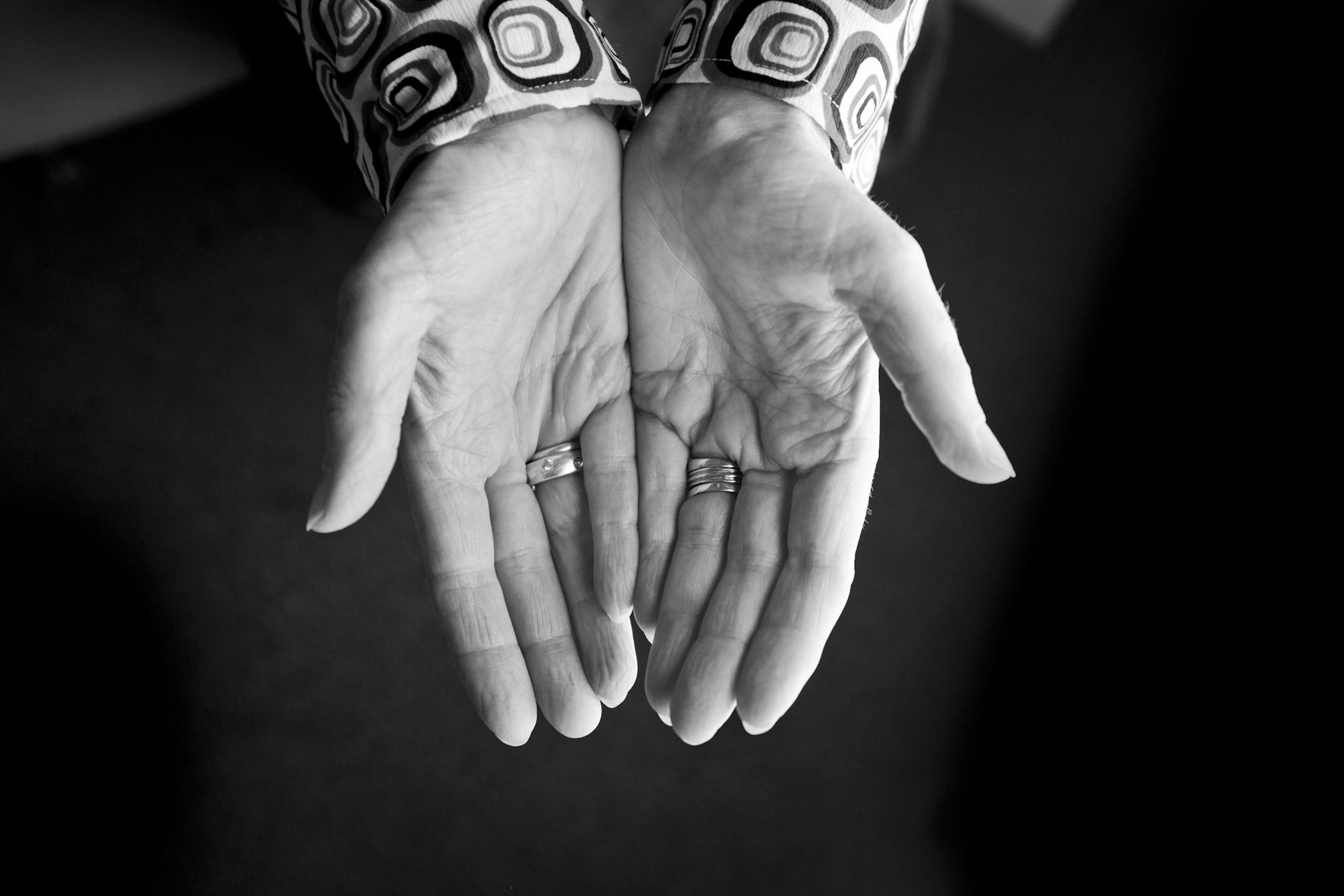 Mary Laurel-True hand portrait