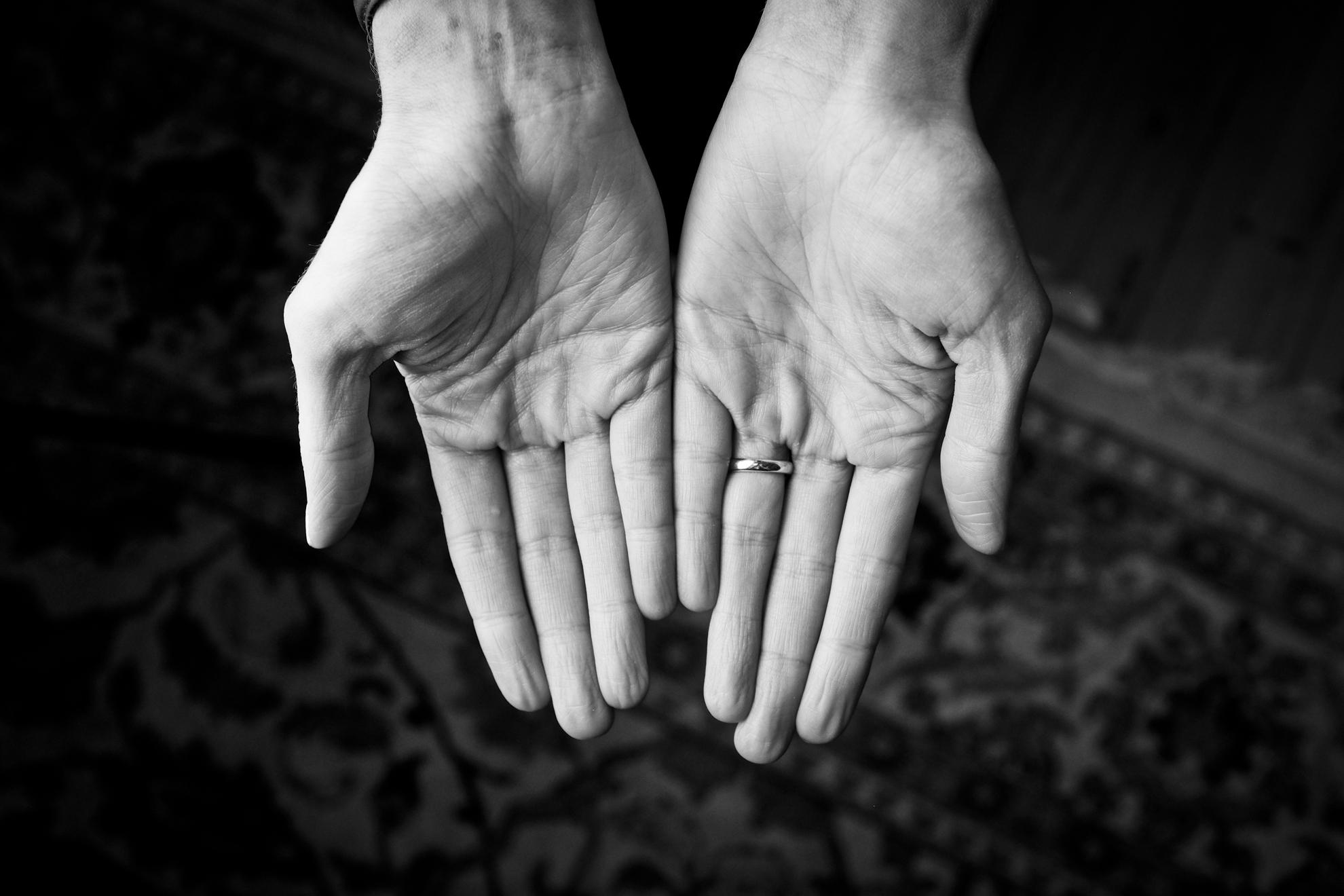 Carly Lunden hand portrait