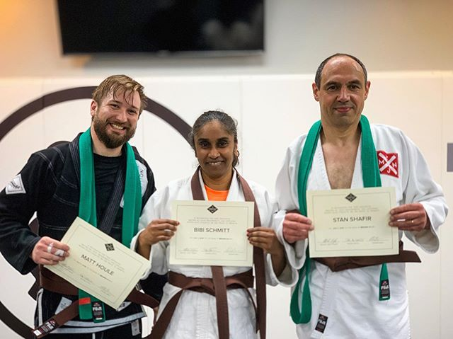 It's not everyday you see 3 of your students get their brown belt promotions! 😭😭😭 We are SO proud of them for all their hard work and grit. Congratulations to these guys as well as the other 30 who are being promoted this week. 🎉