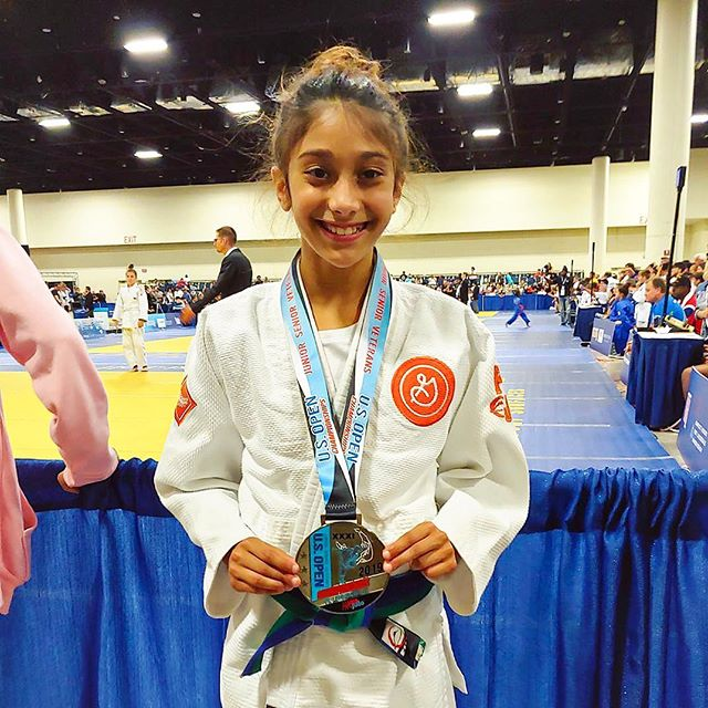 🥈 @usopenjudochampionships for Ms. Annah! 👏 Congratulations! Nathan and Stan fight later in the weekend.