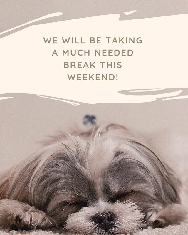 We will be sleeping in and spending time with family this weekend. See you all next weekend @kentfarmersmarket and Auburn Farmer's Market! #mobileespressocart #mobilecoffeecart #love #puppies