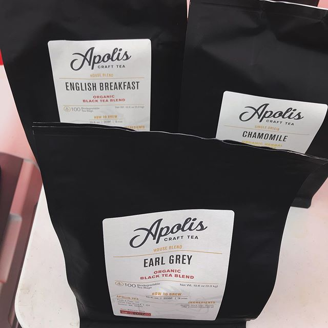 We love our new tea blends from @apolis.tea 🌿. Try it out when you come to Seattle Parrot Expo next weekend! #localtea #seattleparrotexpo #fallevents #mobilecoffeebar #pnwtea #tealove