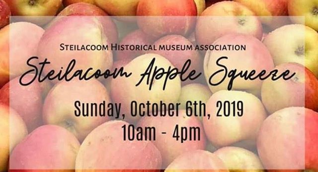 Join us this Sunday 10/06 at the Steilacoom Apple Squeeze from 10-4pm🍎! #fallfestivities #fallinpnw🍁 #steilacoomapplesqueeze #mobileespressocart #mobilecoffeecart #coffee #coffeelove