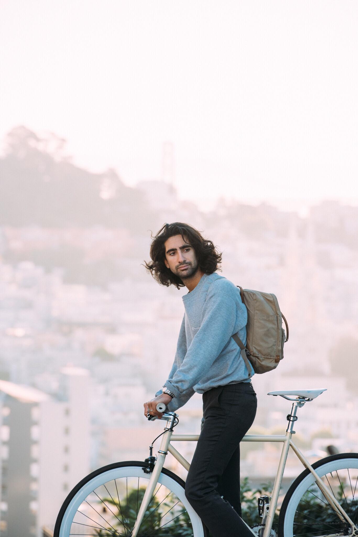 Me + bike +kånken