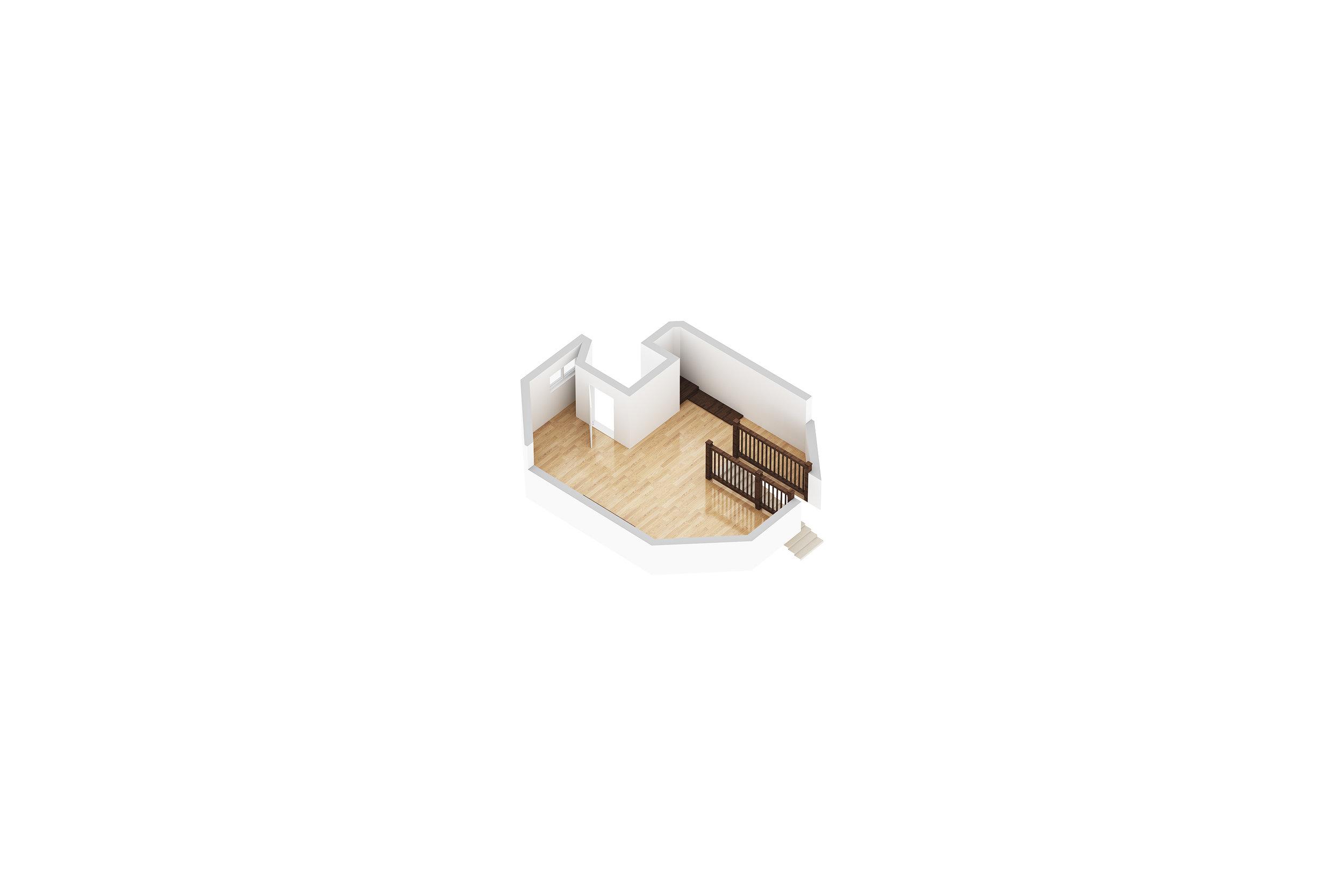 Third Floor: Upper Room