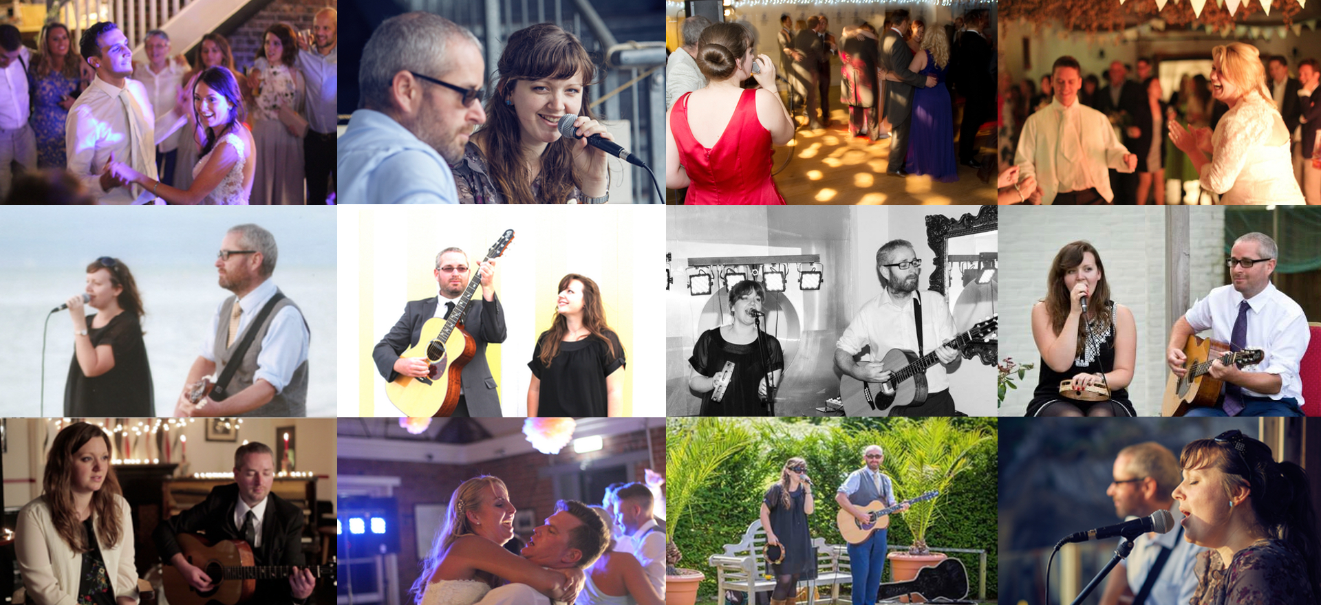 My acoustic duo, Herbie Duo, playing weddings and events across the UK!