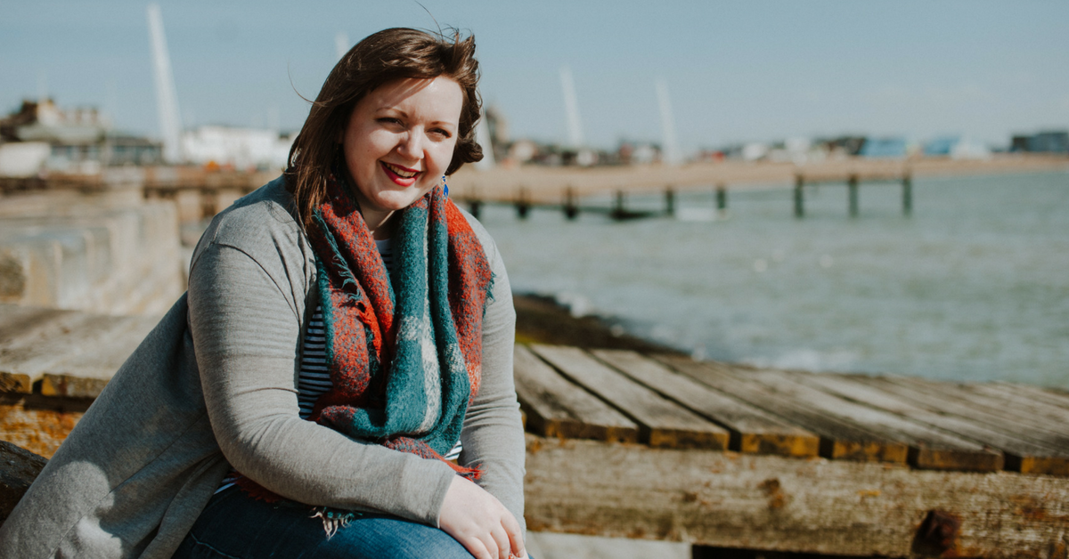 Join The Circle founder Rosie Holman at Southend sea front