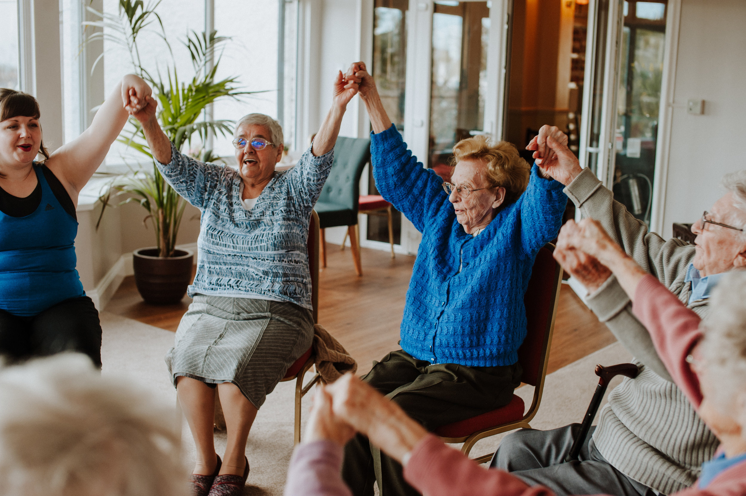 Elderly activity idea, Join the Circle dance sessions