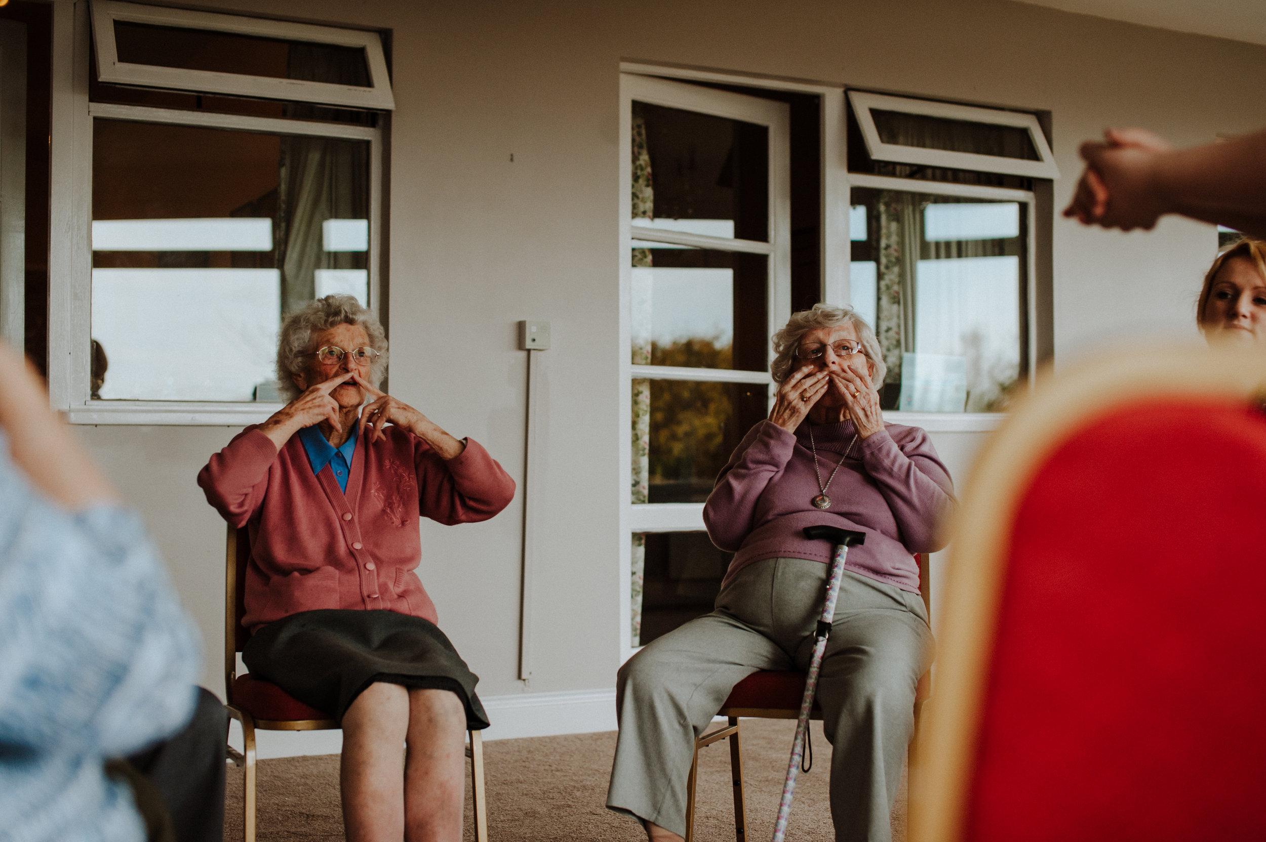 Dementia friendly dance sessions essex
