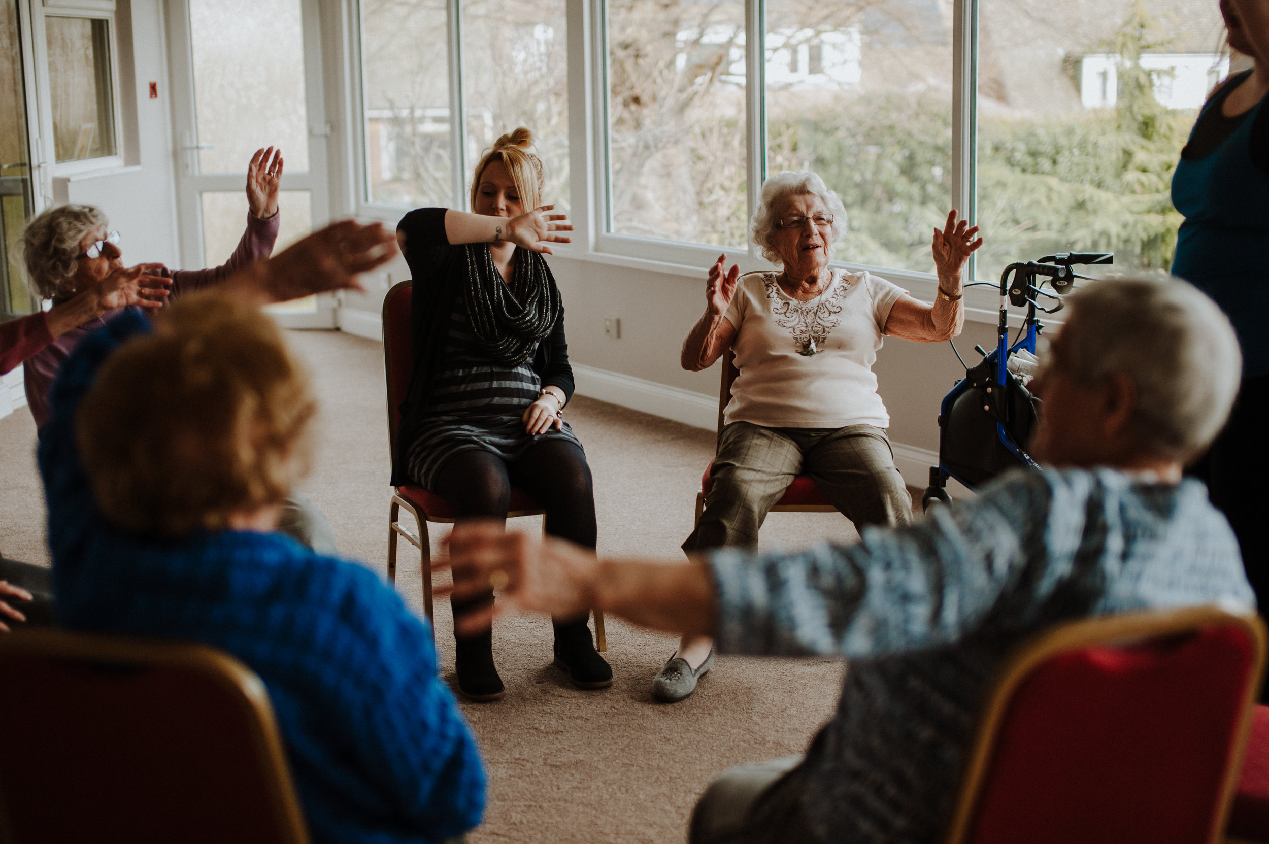 dance sessions for care homes essex