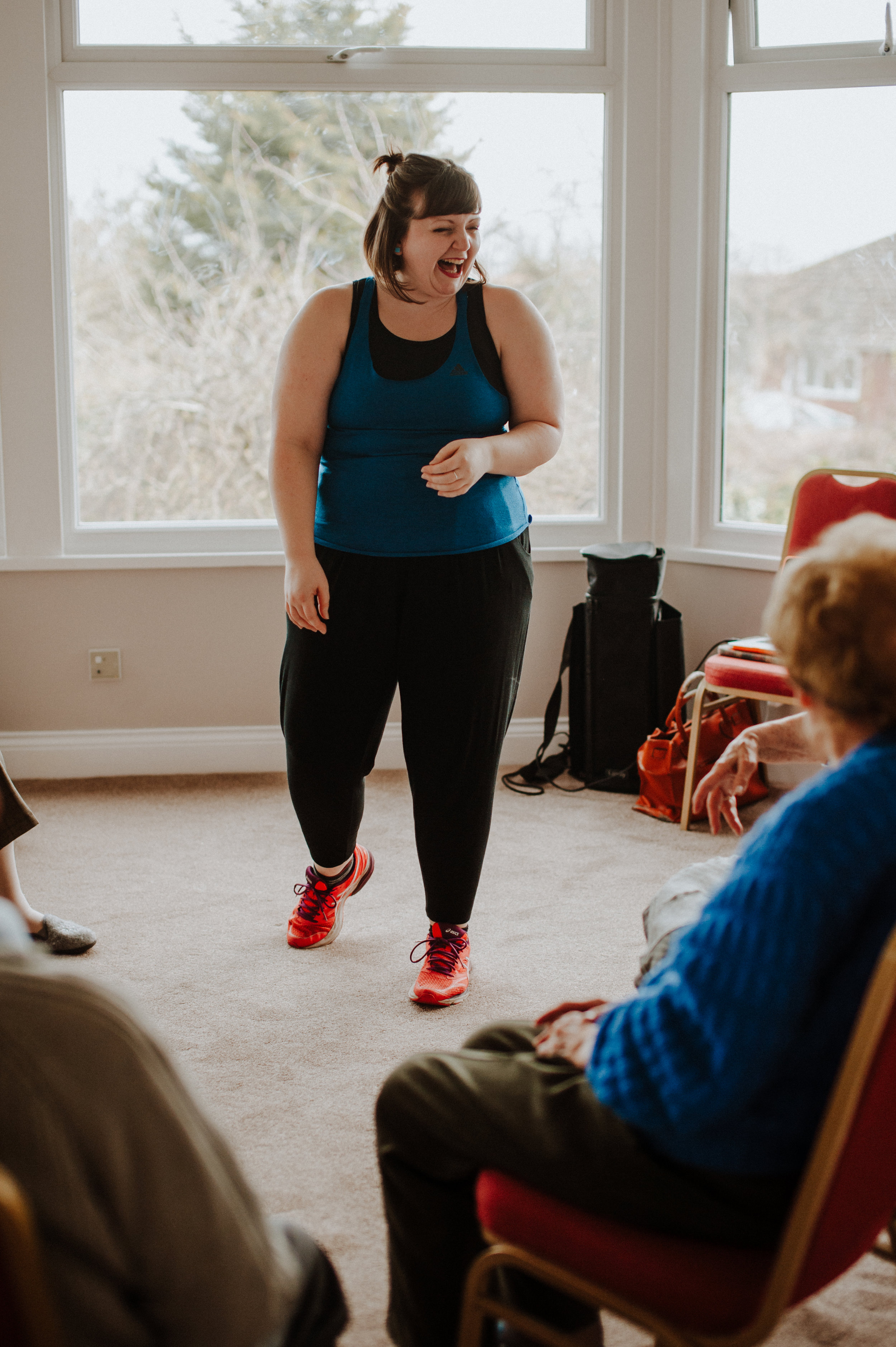 be your own boss running dance sessions in care homes