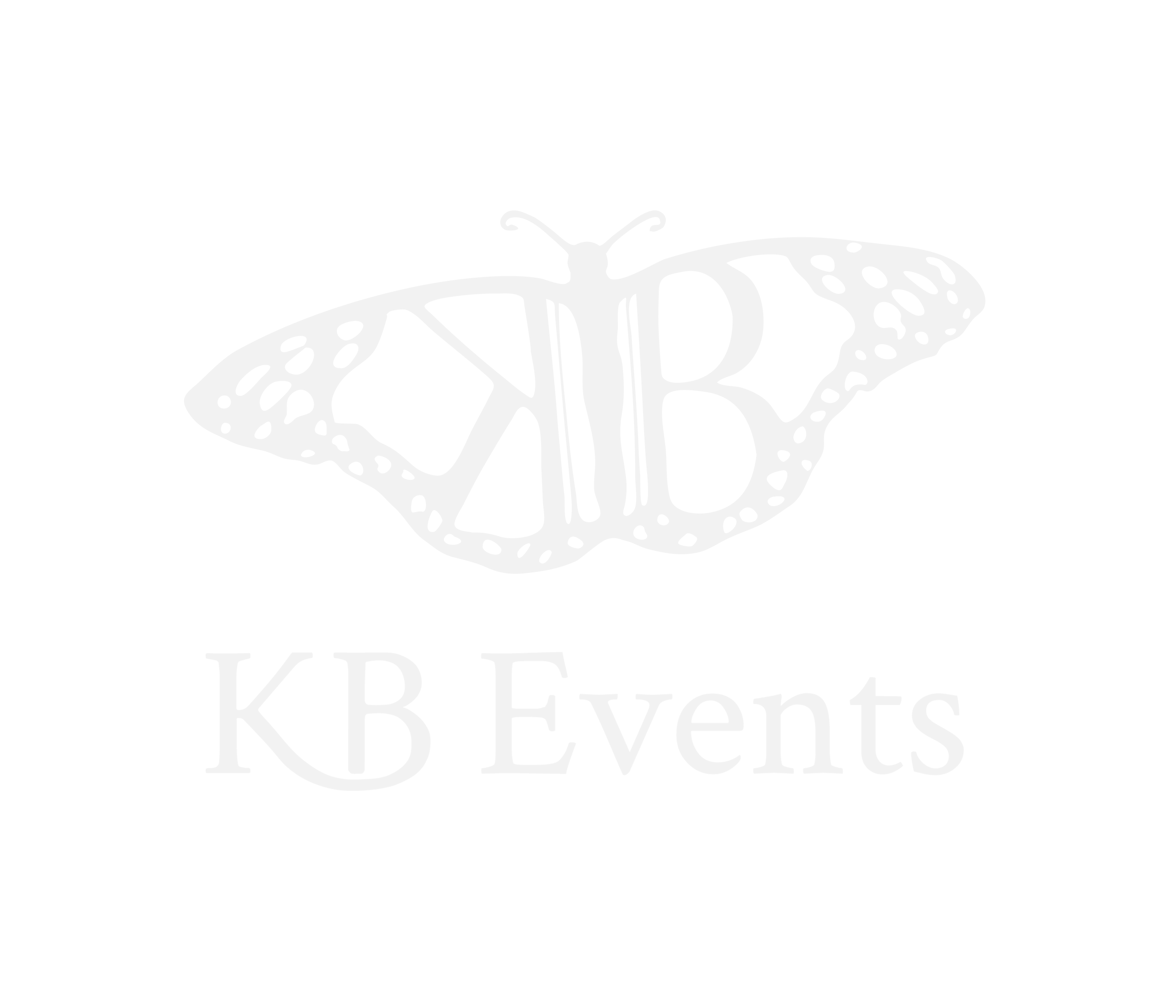 KB Events Logo - Butterfly - Event Planner and Coordinator