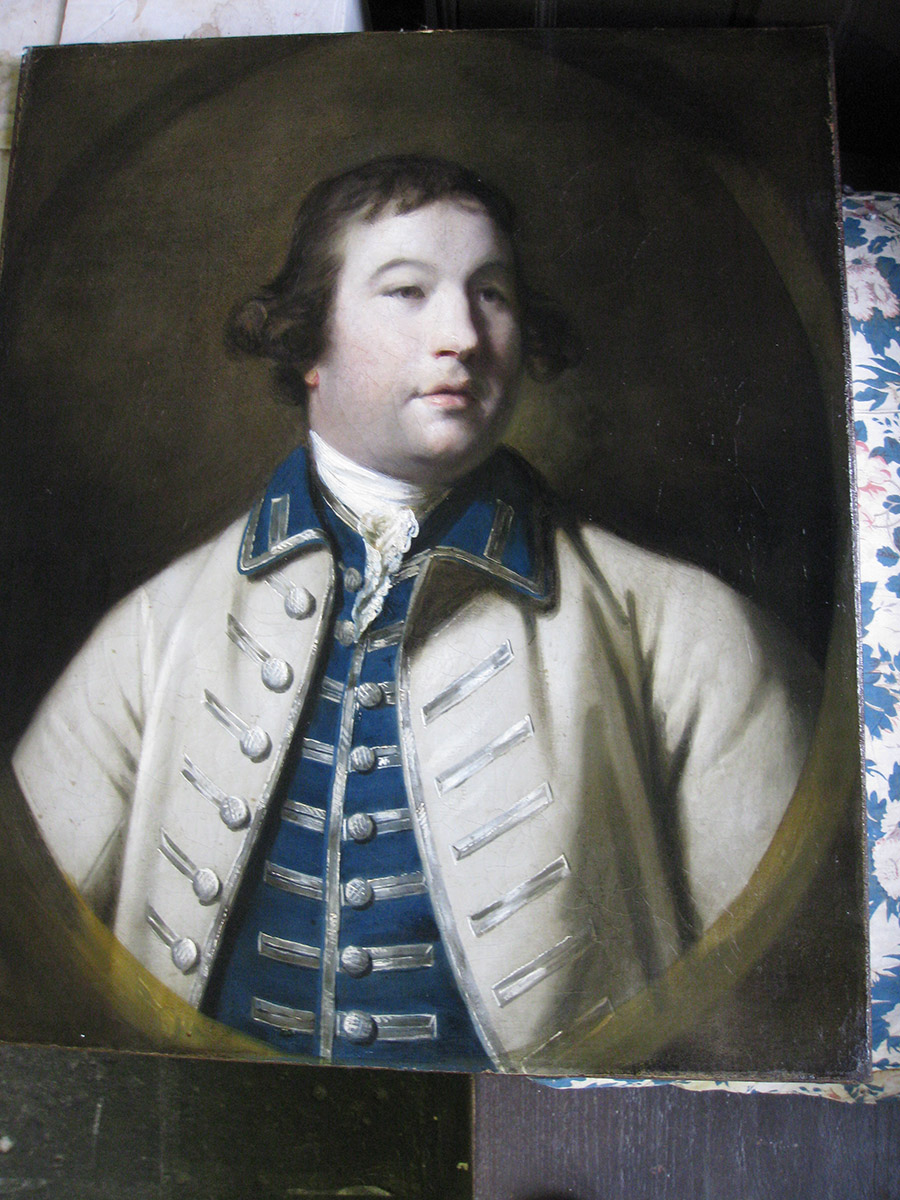 Sir Henry Drummond, Joshua Reynolds (Private Collection)