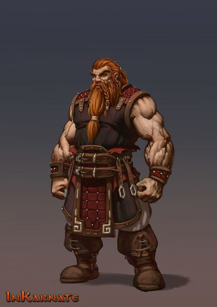 Thorun Bronzebeard    Played by Vergil Nelson    Dwarf and    Way of the Swordsage