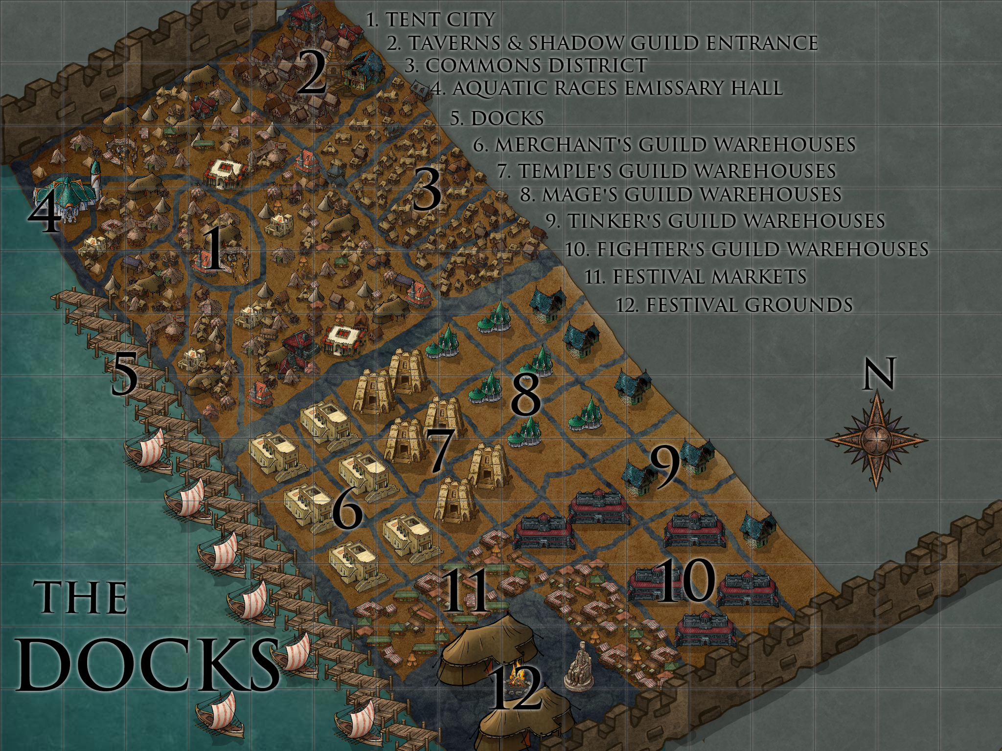 Port City Docks