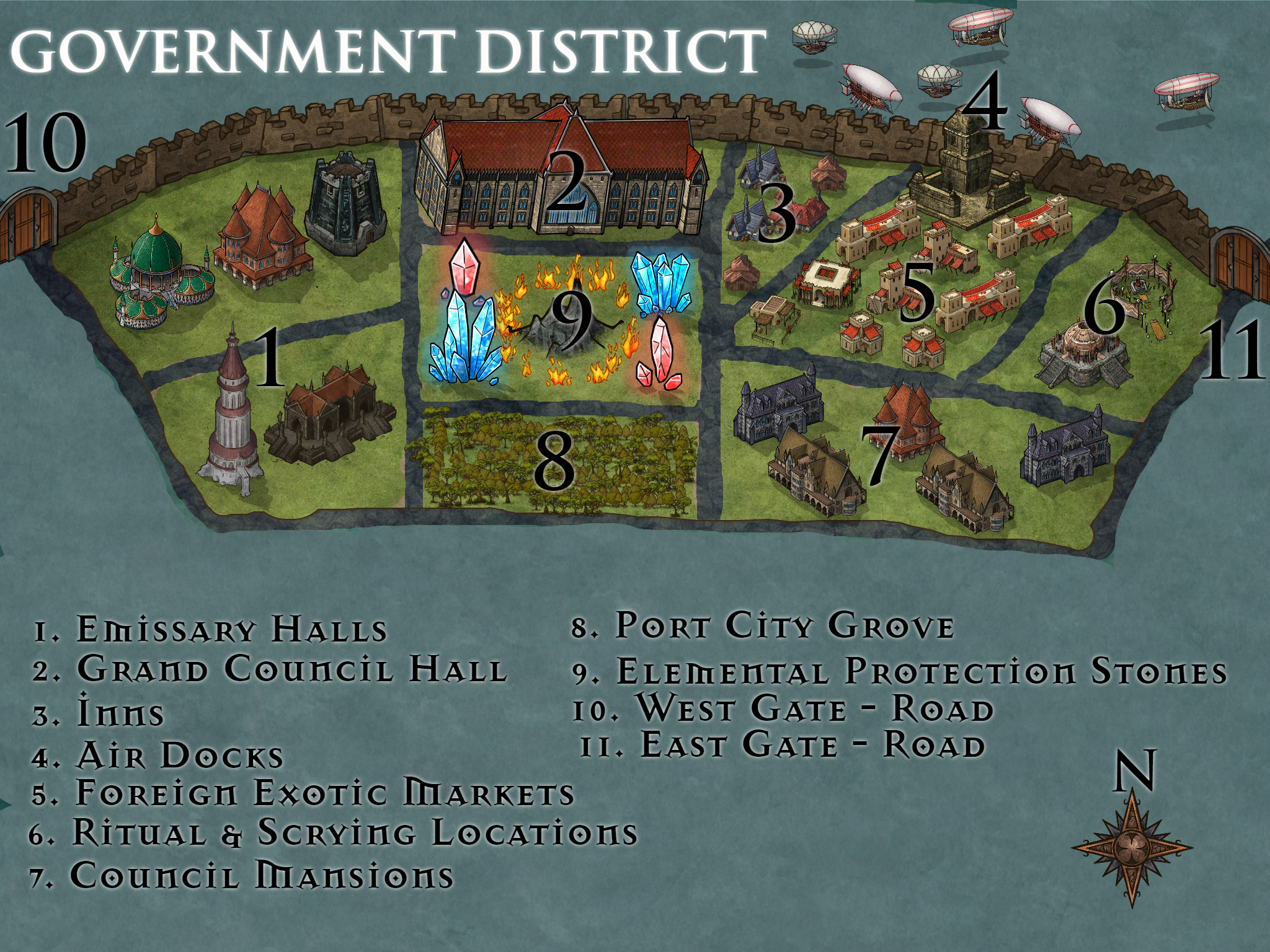 Government District