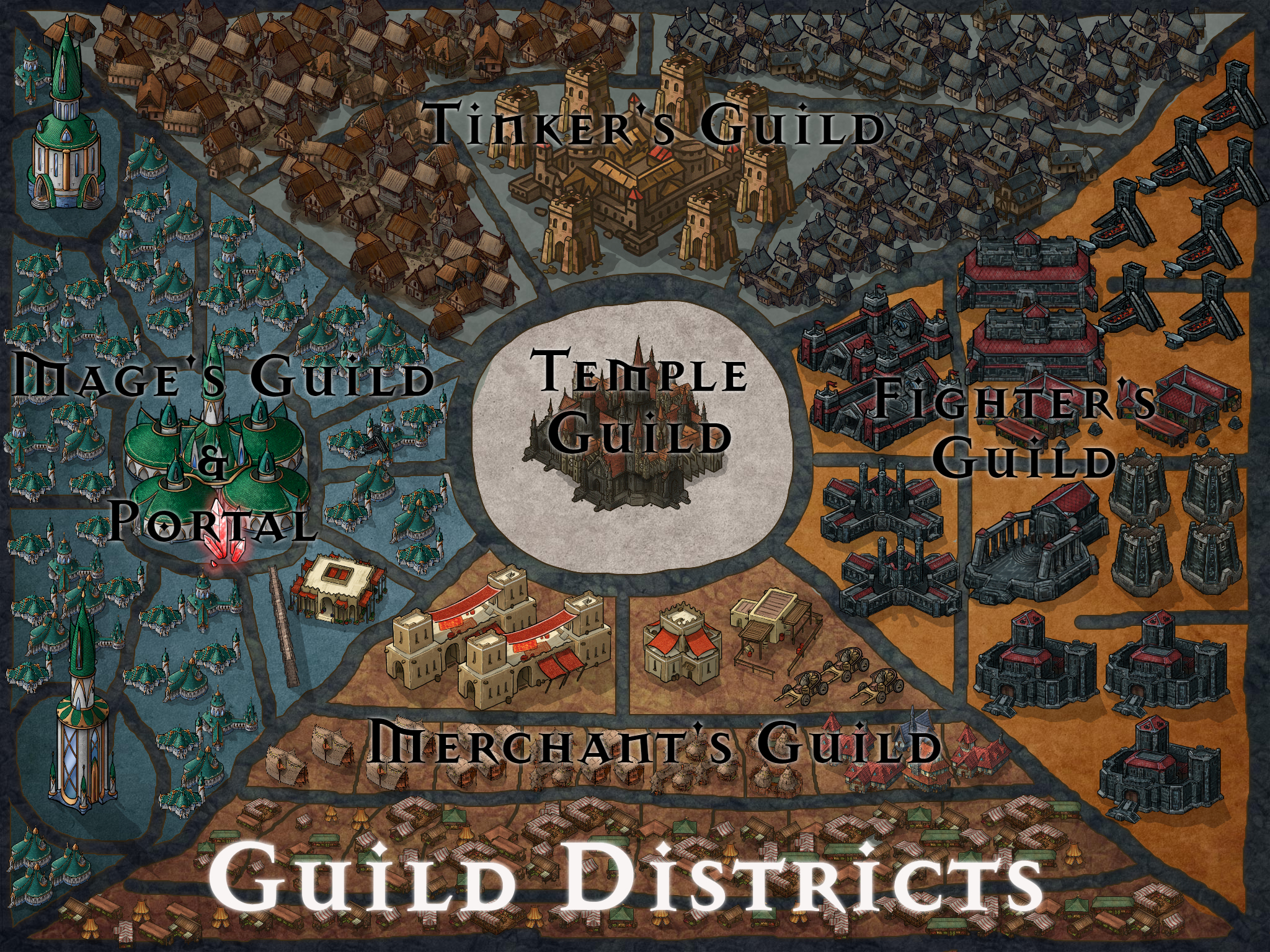 Guild Districts