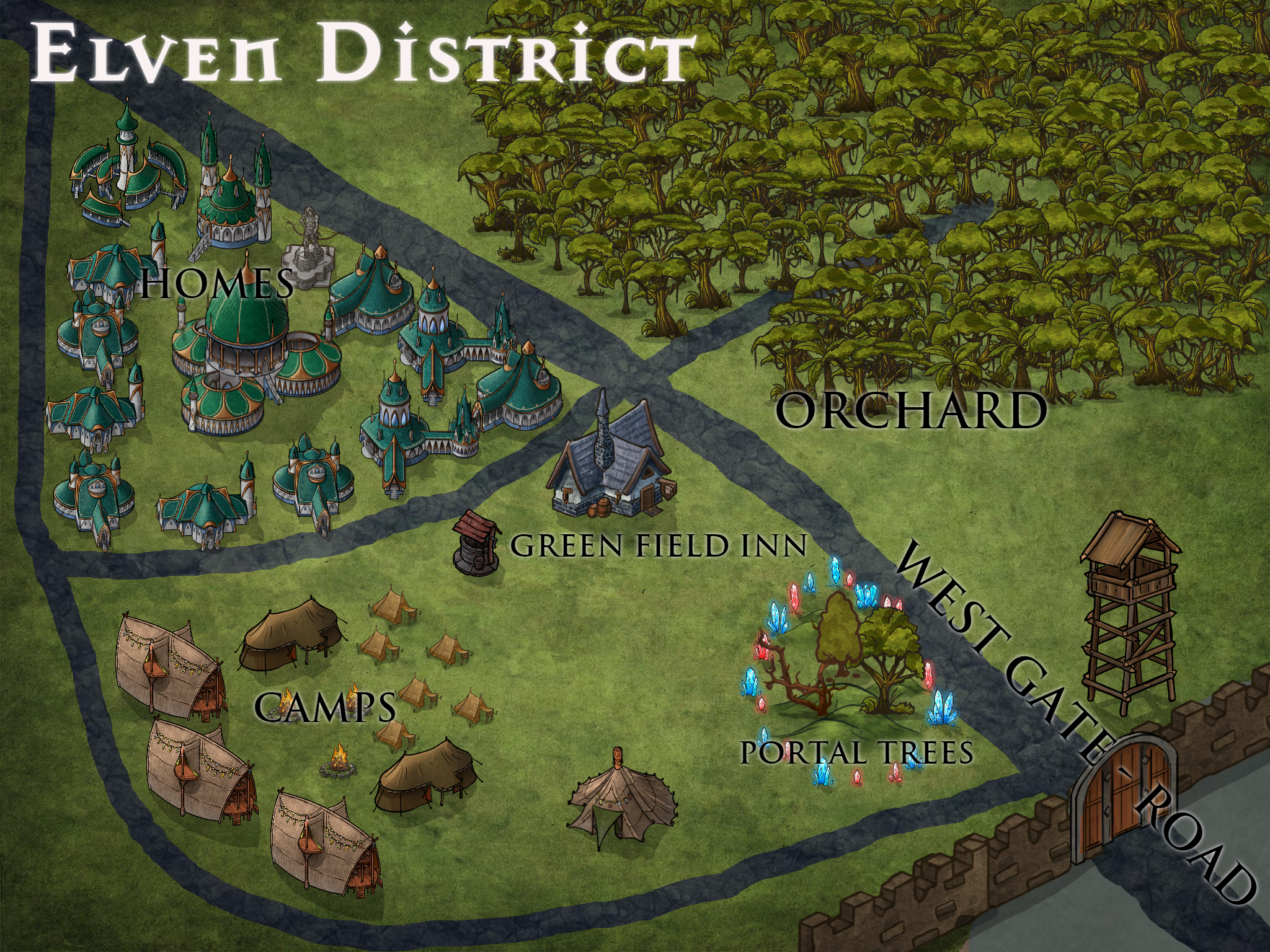 Elven District