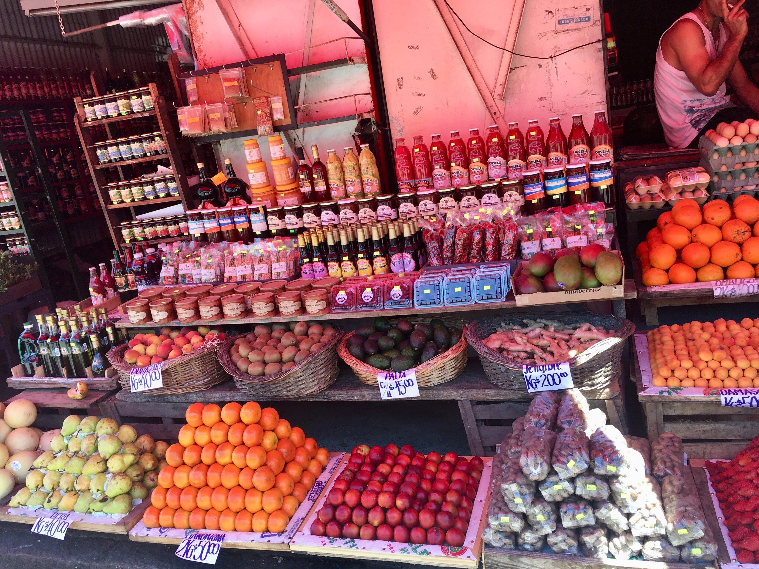frutas argentina mercado tigre
