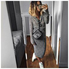 audrey lombard robe longue inspiration