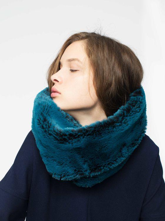 parfois snood bleu collar azul hivierno