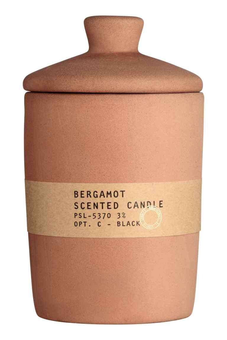 Grande bougie parfumée - OrangeBergamot - Home All  H&M FR.jpg