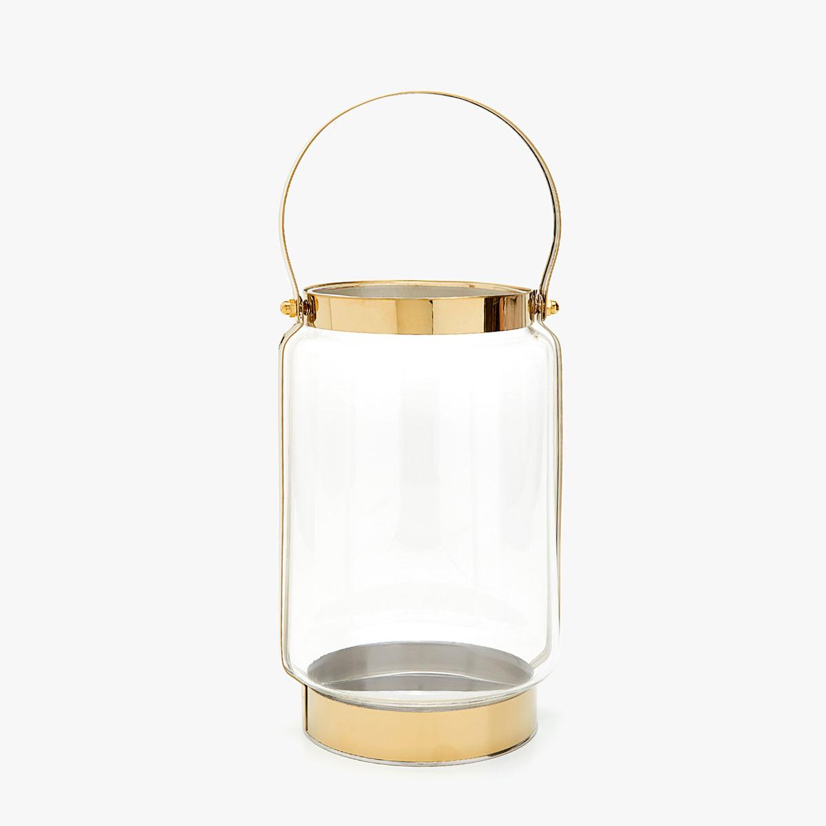 Lanterne en verre et métal - Lanternes - Décoration Zara Home France.jpg