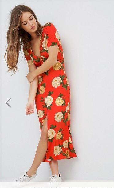asos petite robe a fleurs.JPG