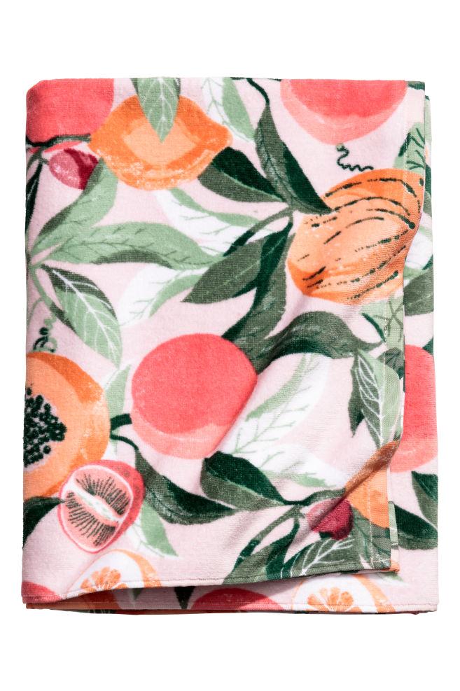 serviette de toilette fruits h&m.jpeg