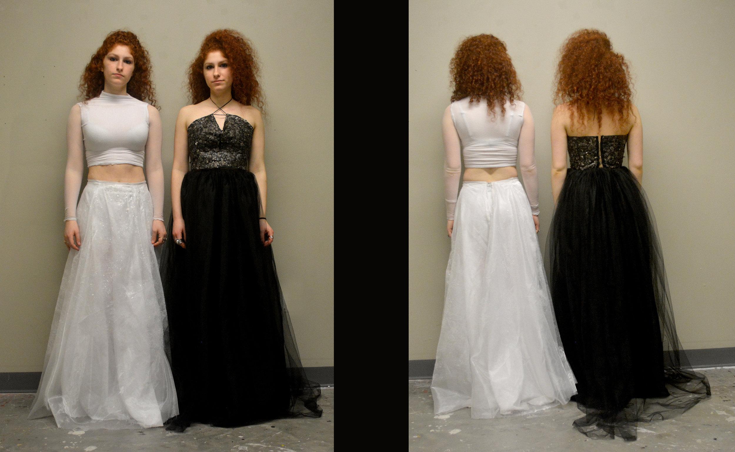 Kahn Sisters-glass and egg dresses.jpg