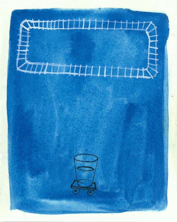 Blue Drawings - (2006–2014)